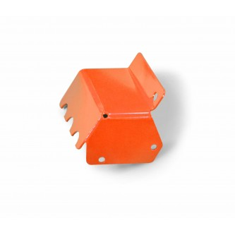Fits Jeep Wrangler TJ 1997-2006.  Steering Box Skid.  Fluorescent Orange.  Made in the USA.