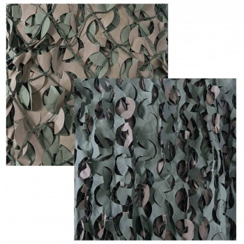 Camo Systems Premium Series Military Boat Blind Cover with Mesh. Size 5' x 13'