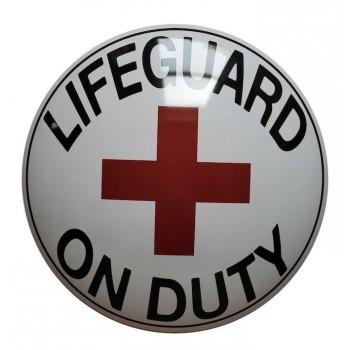 15'' Tin Sign Life Guard