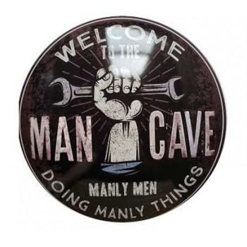 15'' Tin Sign Man Cave