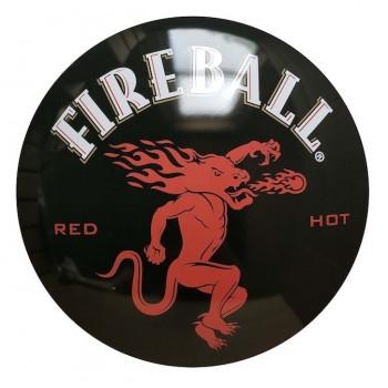 15'' Tin Sign Fireball