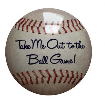 15'' Tin Sign Baseball
