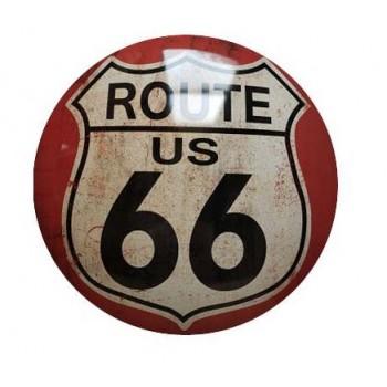 15'' Tin Sign Route 66
