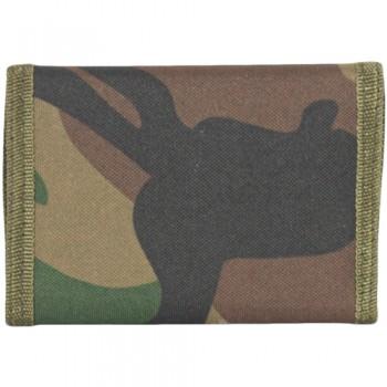 Nylon Commando Wallet - Camouflage