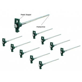 Tent Stakes 10 1/2''  long, 10 pack