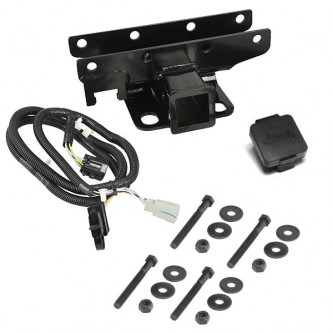 """Trailer Hitch Wire Harness and Plug 2/"""" Receiver for Jeep Wrangler JK 2007-2018"""