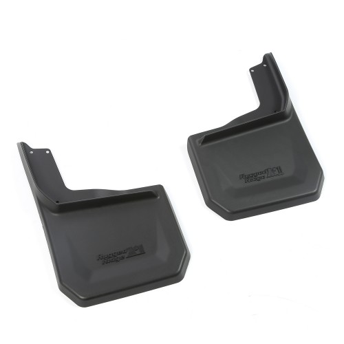 11642.12 Rugged Ridge Splash Guard Kit, 2 Piece, Rear, 2007-2014 Jeep Wrangler