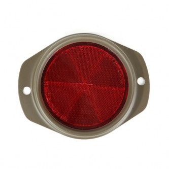 12022.03 Omix-Ada Red Reflector With Olive Drab Housing 1941-1945 Willys MB & Ford GPW