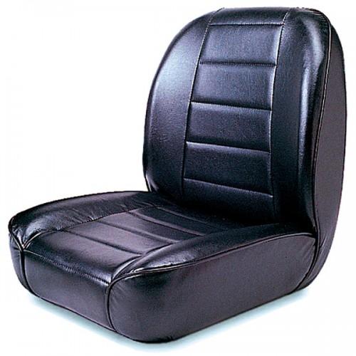 Low Back Front Bucket Seat fits Jeep CJ CJ5 CJ7 CJ8 1955-86 13400.01 Rugged Ridge