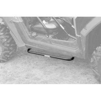 Polaris RZR 800 S Step Bar Kit, 2008-2014. Made in the USA. Powder Coated Black.