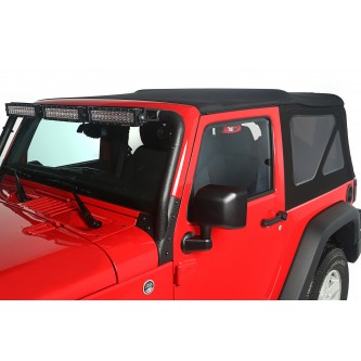 Montana Soft Top, Black Diamond; 10-18 Jeep Wrangler JK, 2 Door
