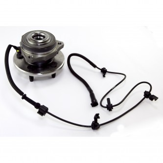 Omix-ADA  16705.11  Wheel Hub Assembly (Front), With 4 Wheel Disc & ABS, Left, 2002-2007 Liberty