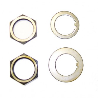 Omix-Ada 16710.01 Spindle Nut and Washer Kit Dana 25