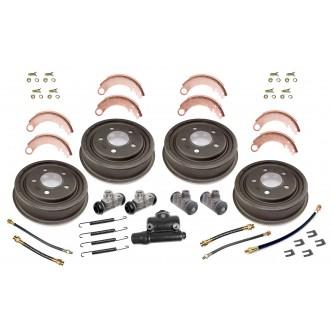 16767.01 Omix-ADA Brake Drum Rebuild Kit (Front or Rear), 9in x 1-3/4in, 1941-1945 MB, 1945-1945 For