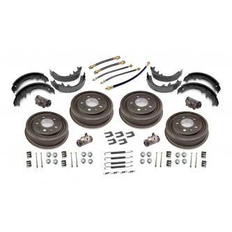 16767.03 Omix-ADA Brake Drum Rebuild Kit (Front or Rear), 9 x 1-3/4, 1953-1967 CJ3B, 1952-1971 M38A1