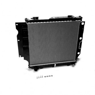Omix-ADA  17101.14 Radiator, 2 Row (With or Without AC), 1997-2006 Wrangler (2.4L, 2.5L & 4.0L) (MT)