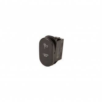 Rocker Switch, 2-Position, Lighted Whip