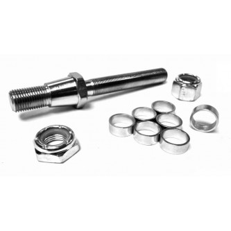 TS-8-9-7.125¡, Rod End Studs, Install Your Own, 1/2-20 RH, 9/16-18 RH Tapered Stud 7.125¡ Taper