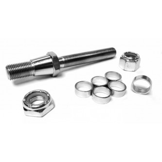TS-10-8-7.125¡, Rod End Studs, Install Your Own, 5/8-18 RH, 1/2-20 RH Tapered Stud 7.125¡ Taper