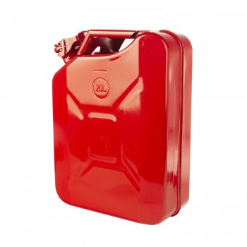 Red 20 L 5.2 Gallon Metal Jerry Can Fuel Can Rugged Ridge 17722.31