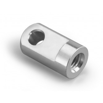 DME-5, Eye Rod Ends, Female, M5 x 0.80 RH, 6.1 mm dia Pin Hole 6.0 mm wide