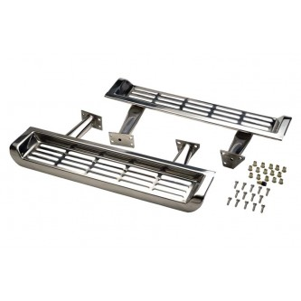 Side Steps Pair Polished Stainless Jeep Wrangler TJ 1997-2000 30491