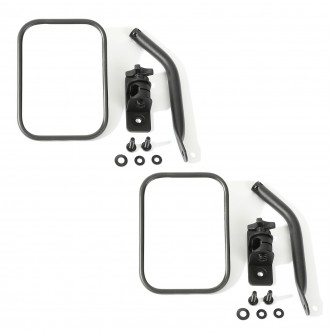 Quick Release Mirror PAIR for Jeep Wrangler TJ JK  1997-2018 Textured  391102518