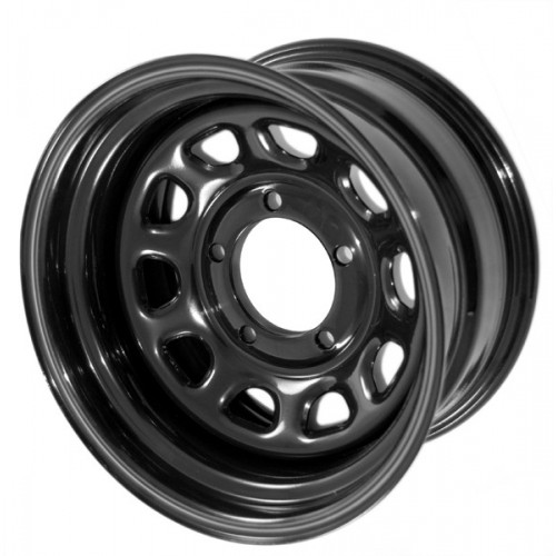 Black 15x10 Steel Wheel for Jeep Wrangler YJ TJ Cherokee 1984-2006 391550002