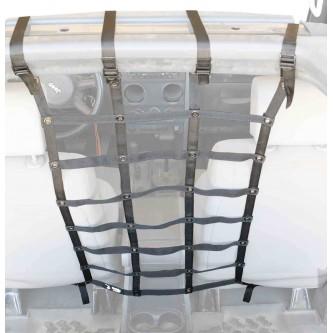 Black Front Seat Dog Partition For Jeep Wrangler JK 2007-2018 Steinjager J0044980