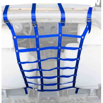 Blue Front Seat Dog Partition For Jeep Wrangler JK 2007-2018 Steinjager J0044984