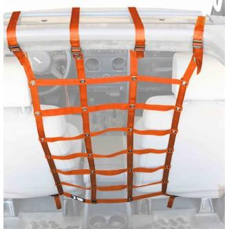Orange Front Seat Dog Partition For Jeep Wrangler JK 2007-2018 Steinjager J0044981