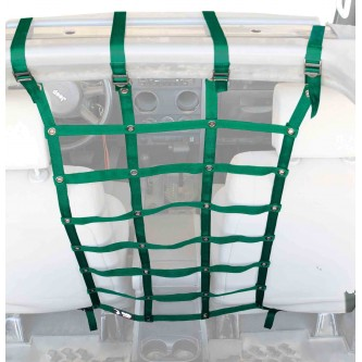 Green Front Seat Dog Partition For Jeep Wrangler JK 2007-2018 Steinjager J0045771