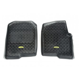 Coverking Custom Fit Front Floor Mats for Select AMC Spirit Models Black Nylon Carpet