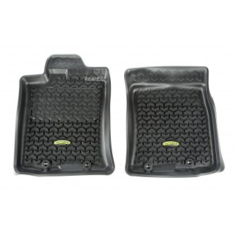 Front Floor Liners Black for Toyota FJ Cruiser 12-2014 Automatic Outland