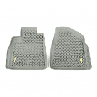 398490103 Outland Gray Front Floor Liner Pair 2007-2015 GM Acadia, Traverse, Enclave