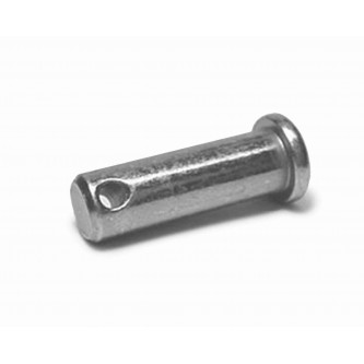 CP2800, Clevis Spring Pins, Clips and Cotters, Clevis Pins, 3/16, Cotter Pin Style Zinc Yellow Plating