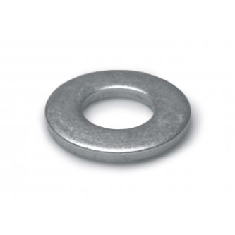 Washer, 1.375 x 0.406 x 0.187, Steel, Plain, Fasteners, Washers, 10mm nominal size, 0.406 Bore 0.187 Thick 1.375 Diameter Bare Metal