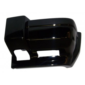 5DY01DX8AB Crown Front Bumper Cap, Left (Gloss Black) JEEP Cherokee 1997-2001