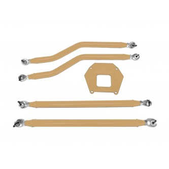 Polaris RZR XP 1000, 2013-2016, Rear Radius Arm High Clearance Kit, Steinjager. Made in the USA. Powder Coated Military Beige