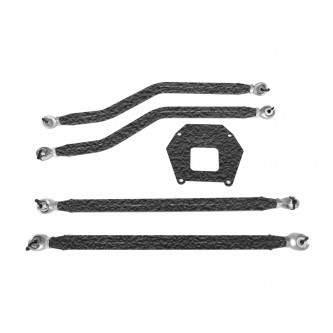 Polaris RZR XP 1000, 2013-2016, Rear Radius Arm High Clearance Kit, Steinjager. Made in the USA. Powder Coated Texturized Black