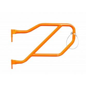 Fluorescent Orange Rear Tube Doors For Jeep Wrangler JLU 2018-2019 Steinjager J0048325