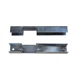 Skid Plate Mount Section Frame Repair Brackets For Jeep Wrangler TJ 1997-2006