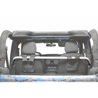 Jeep Wrangler JK, 2007-2018, Front Harness Bar Kit.  Cloud White.  2 Door Only.  Made in the USA.