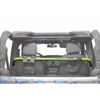 Jeep Wrangler JK, 2007-2018, Front Harness Bar Kit.  Gecko Green.  2 Door Only.  Made in the USA.