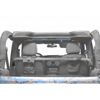 Jeep Wrangler JK, 2007-2018, Front Harness Bar Kit.  Gray Hammertone.  2 Door Only.  Made in the USA.