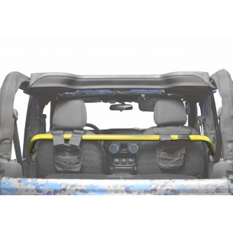 Jeep Wrangler JK, 2007-2018, Front Harness Bar Kit.  Lemon Peel.  2 Door Only.  Made in the USA.
