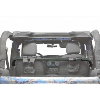 Jeep Wrangler JK, 2007-2018, Front Harness Bar Kit.  Locas Green.  2 Door Only.  Made in the USA.