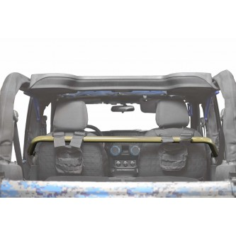 Jeep Wrangler JK, 2007-2018, Front Harness Bar Kit.  Military Beige.  2 Door Only.  Made in the USA.