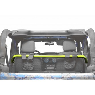 Jeep Wrangler JK, 2007-2018, Front Harness Bar Kit.  Neon Yellow.  2 Door Only.  Made in the USA.