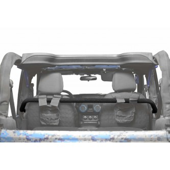 Jeep Wrangler JK, 2007-2018, Front Harness Bar Kit.  Texturized Black.  2 Door Only.  Made in the USA.